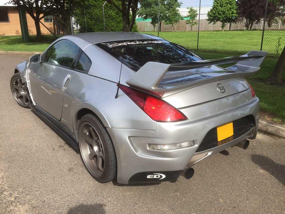 Nissan 350Z (modified to 500 BHP)