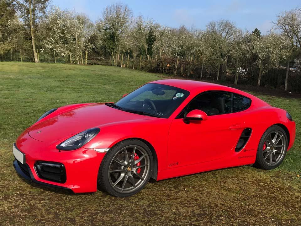 Porsche Cayman 981 GTS