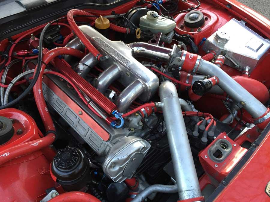 Porsche Engine Bay