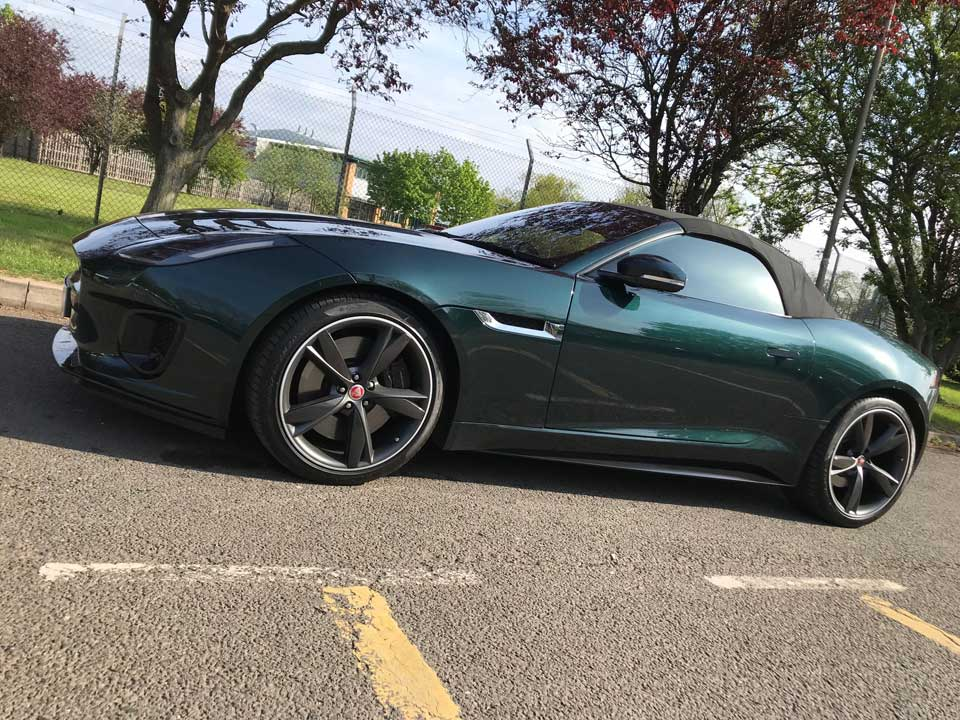 Jaguar F-Type P380